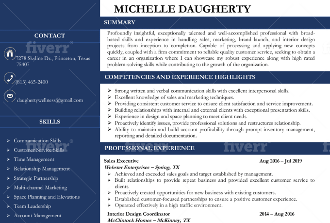 rewrite your resume  cover letter and linkedin profile by