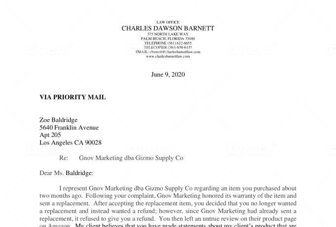 Demand Letter Sample For Money Owed from fiverr-res.cloudinary.com