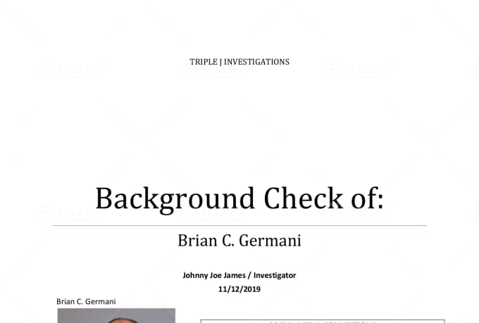 Conduct a full background check with social media by ...