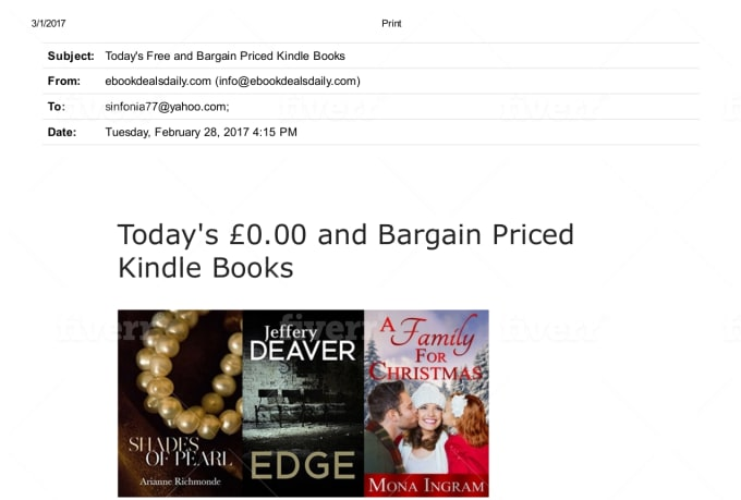 Feature Your Discounted Ebook On My Uk Ebook Deals Blog