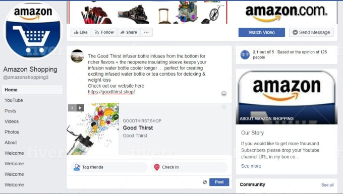 6 MONTHS UNLIMITED Traffic for Amazon product amazon store esty website