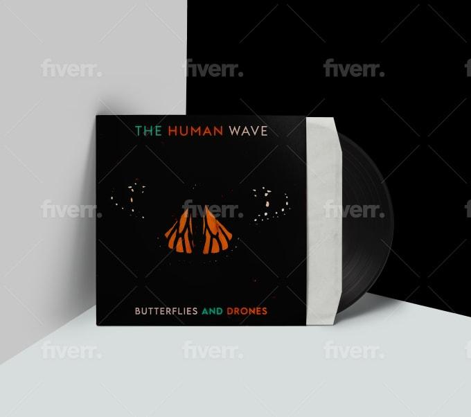 design an unique album, single, ep, mixtape cover art