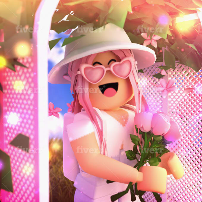 Aesthetic Roblox Edits Girls Make You A High Quality Roblox Gfx By Picklepieyt