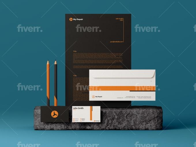 design a corporate brand style guide and logo design
