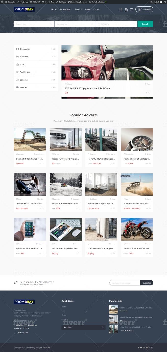 create custom post type, custom fields for wordpress