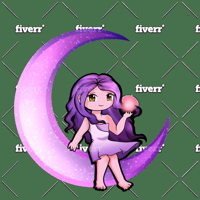 Draw Your Twitch Logo By Mariyay Fiverr