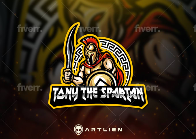 design gaming mascot logo for twitch, youtube, esport, sport