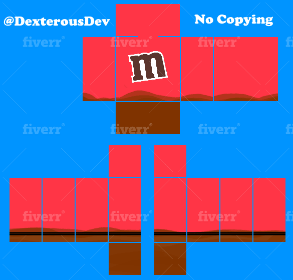 Create Any Roblox Shirt Or Pant Template By Developer737