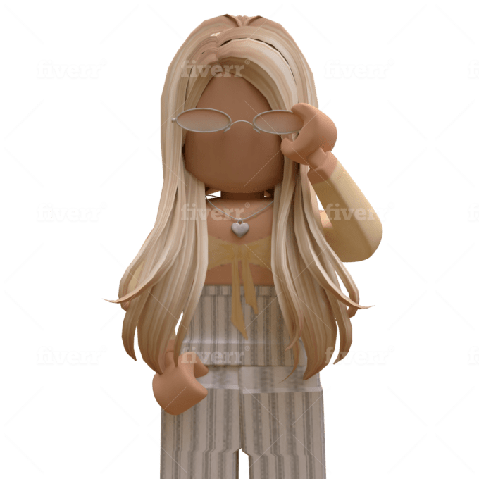 Aesthetic Gfx Roblox Girl Png Make A High Quality Detailed Roblox Gfx For You By Iirachelx