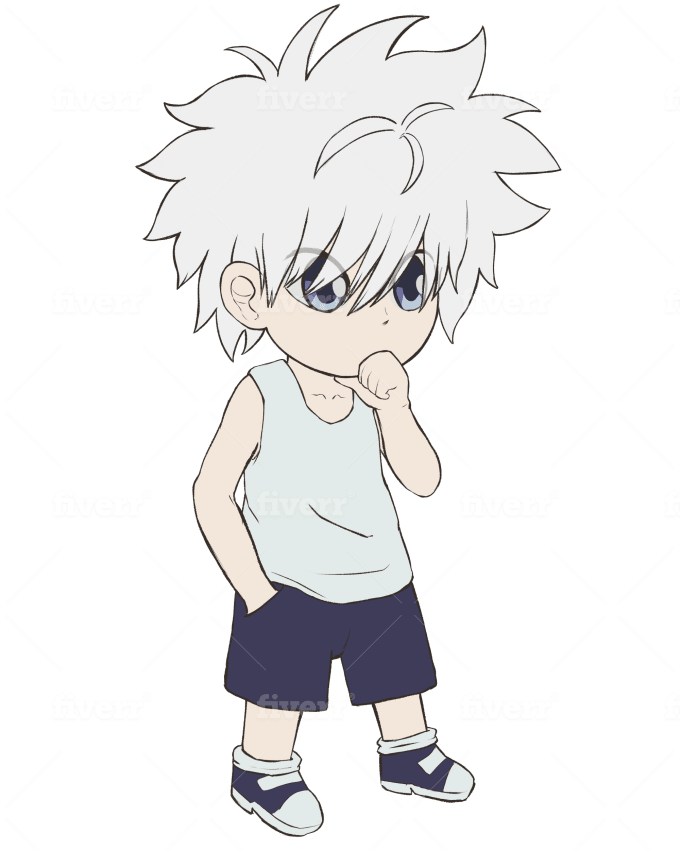 Draw Cute Anime Chibi Best For Avatar Or Profile Picture By Alescndr Fiverr