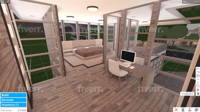 Build You A Bloxburg Modern House By Mrbluetigerz