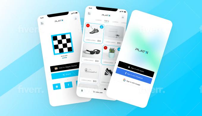 design web app, dashboard