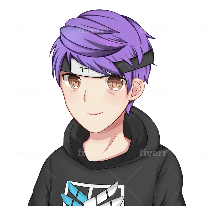 Draw You An Anime Profile Picture By Rinruru Fiverr