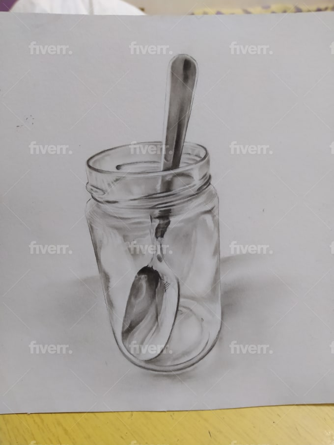Draw Realistic Pencil Portrait From A Photo By Kerolos Samy
