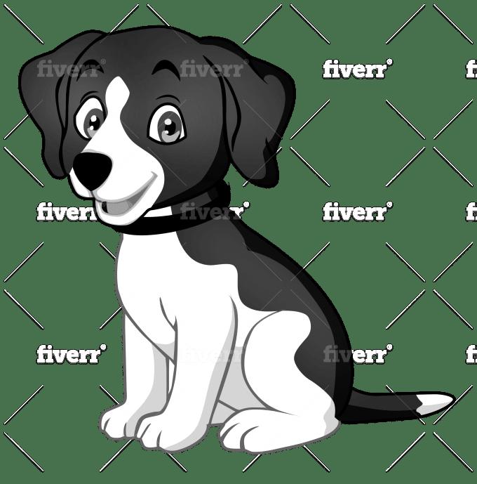 Do Animal Dog Cat Pet Illustration Cartoon Caricature By Luiza98