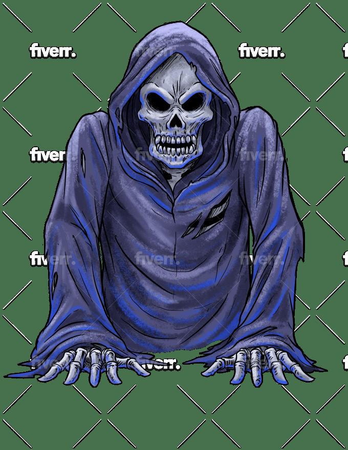 Make A Horror Style Illustration Artwork Cover By Jorgeiracheta