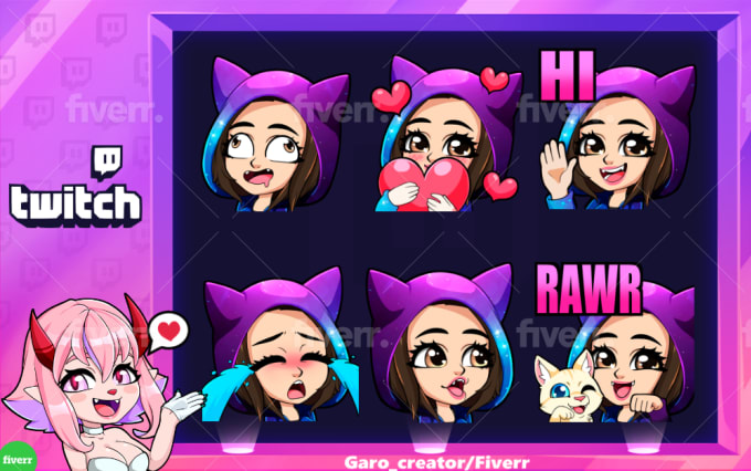 create the best personalized twitch emotes for you, discount