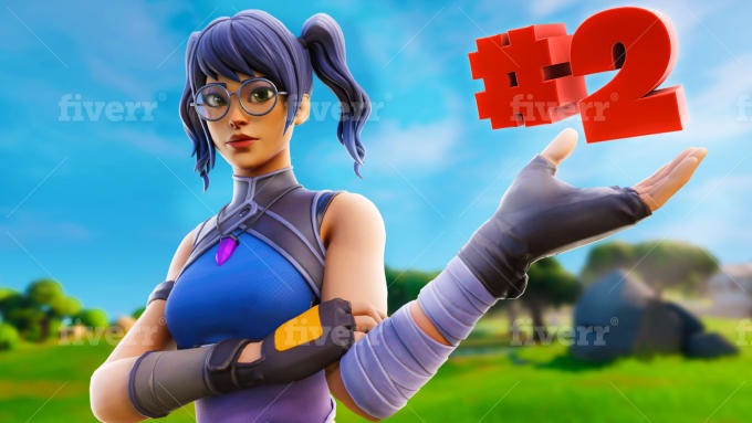 Design You A Stunning 3d Fortnite Thumbnail By Zypruzdesigns