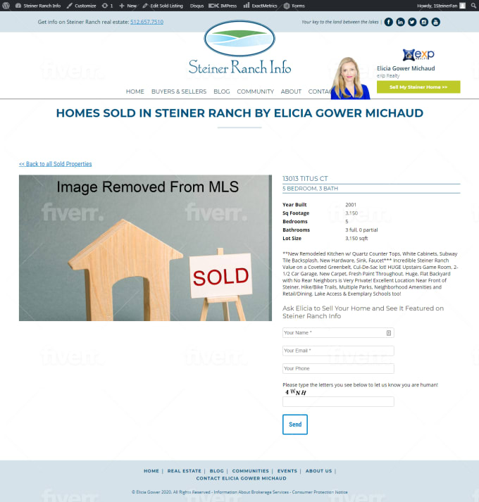 design real estate website with rets mls feeds