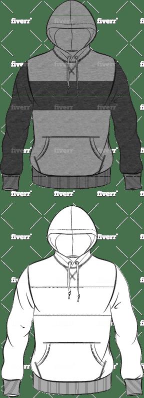 Illustrate A Menswear Fashion Tech Sketch By Kathryngardner