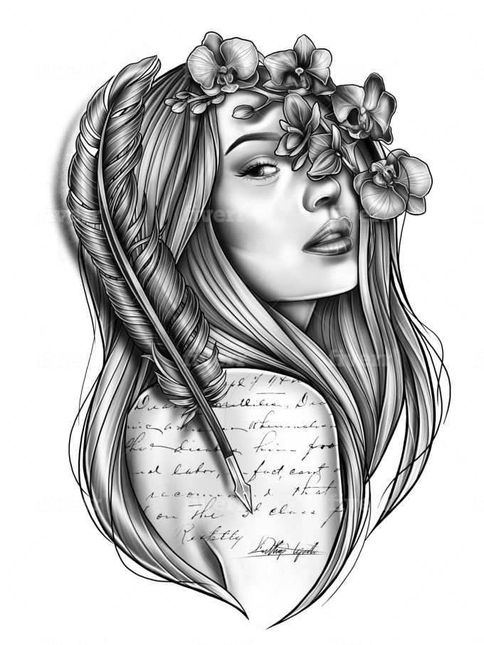 Create Your Perfect Unique Tattoo Design By Klsketches