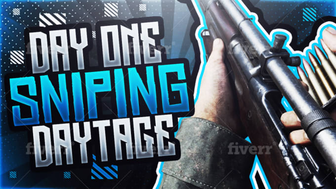 Design You A Cod Ww2 Sniping Montage Youtube Thumbnail By