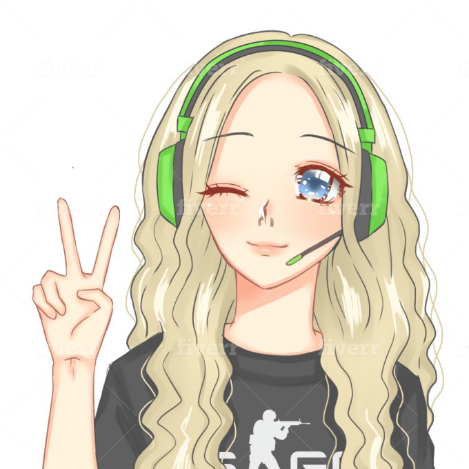 Draw You Anything In Anime Style In 24 Hours By Hamsterbunny