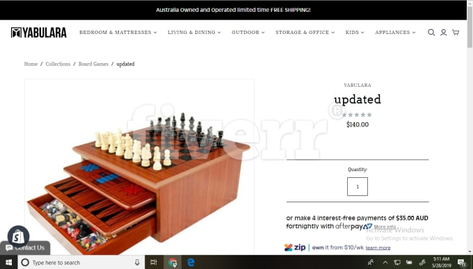 setup shopify store, edit code, fix errors and site customization