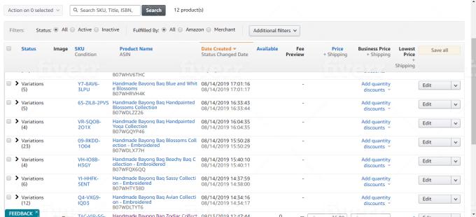 upload products listing to amazon ebay etsy groupon walmart USA europe ca
