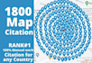 create local  1800 google maps citations to boost your business