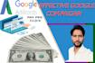 set up and run google adwords, adsense,ads camapign