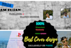 design social media cover in 24 hour