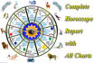 create horoscope, upto 45 pages details