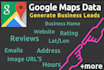 scrap data from google maps