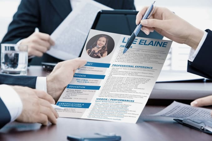 design great creative resume or cv by fiverrstar