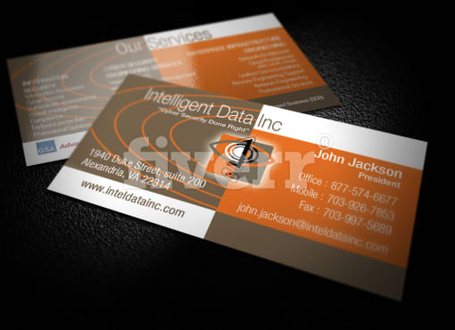 Buddhiika15807 business cards stationery fiverr for Fiverr business cards