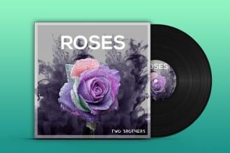 design professional album cover