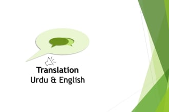 Fiverr / Search Results for 'urdu into english'