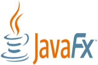 develop desktop app using java or javafx or swing
