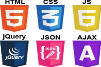 do html, css,json, javascript, react,angular,node,php