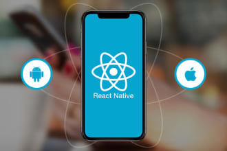 develop android and ios application using react native