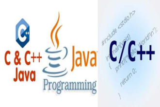 help in java,cpp,visual basic go programming project