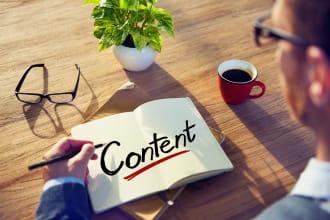 write original content for blogs and websites