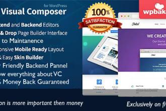 design a business wordpress website using visual composer