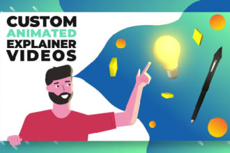 create a professional infographic explainer videos