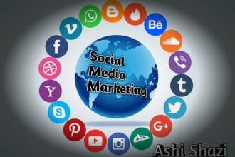 share your content on multiple social media websites
