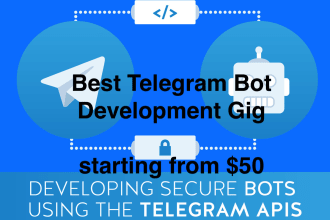 Fiverr / Search Results for 'telegram admin bot'