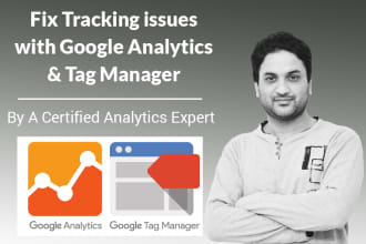 fix your google analytics and tag manager issues