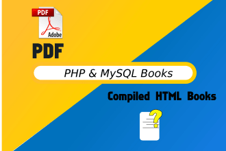 share my php sql learning ebooks with free gift