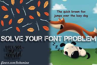 edit your ttf or otf font file